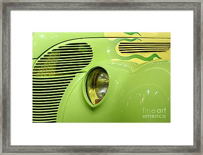 Hot Rod Ford Coupe 1938 Framed Print by Oleksiy Maksymenko