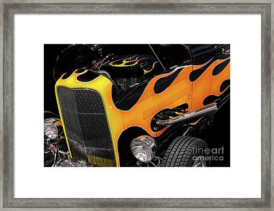 Hot Rod Framed Print by Oleksiy Maksymenko
