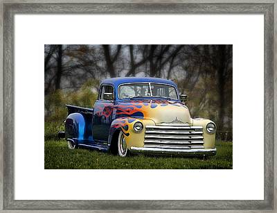 Hot Rod Truck Framed Print