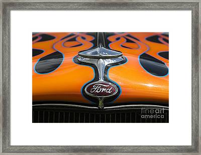 Ford 5 Framed Print by Wendy Wilton