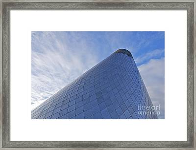 Hot Shop Cone Framed Print