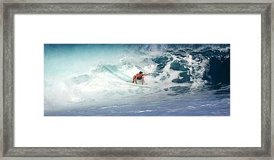Hot Soup Framed Print by Kevin Smith
