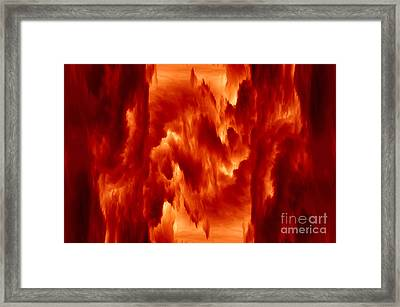 Hot Space Framed Print by Michal Boubin