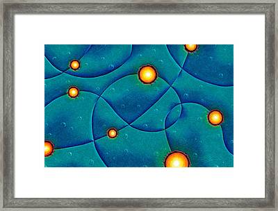 Hot Spots Framed Print