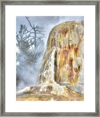 Hot Springs Framed Print