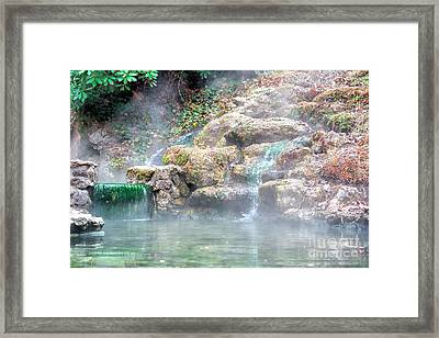 Framed Print featuring the photograph Hot Springs In Hot Springs Ar by Diana Mary Sharpton