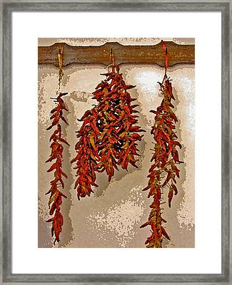 Hot Stuff Framed Print by Jean Hall