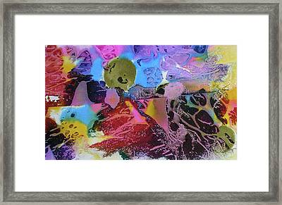 Framed Print featuring the painting Hot Stuff by Mary Sullivan