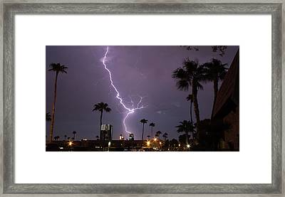 Framed Print featuring the photograph Hot Stuff by Michael Rogers