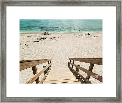 Hot Summer Daze Framed Print by Michelle Wiarda