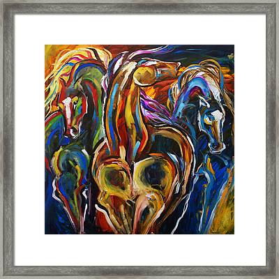 Hot Summer Night Framed Print