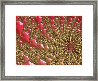 Hot Summer Sun Framed Print by Susan Maxwell Schmidt
