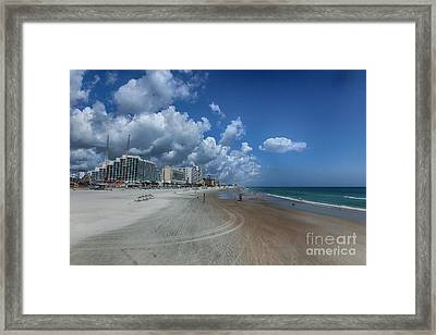 Hot Times In The Summertime Framed Print by Judy Hall-Folde