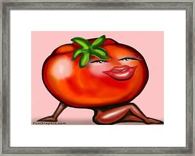 Hot Tomato Framed Print