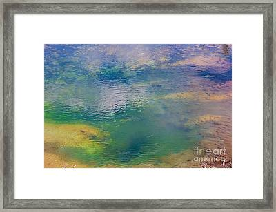 Framed Print featuring the photograph Hot Water Color  by Robert Pearson