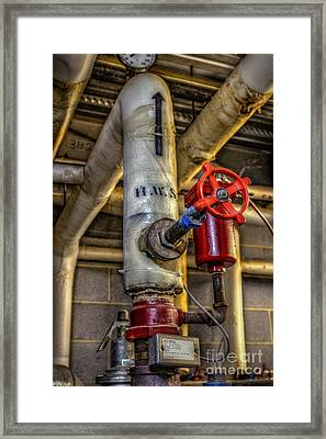 Hot Water Supply Framed Print