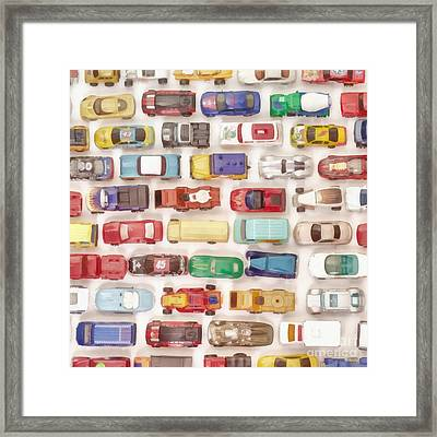 Hot Wheels Collection Painting Framed Print by Edward Fielding