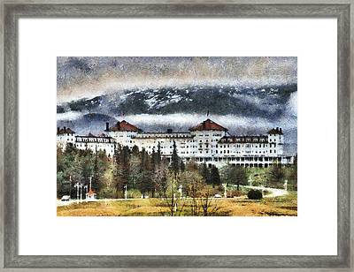 Hotel At Mount Washington Framed Print