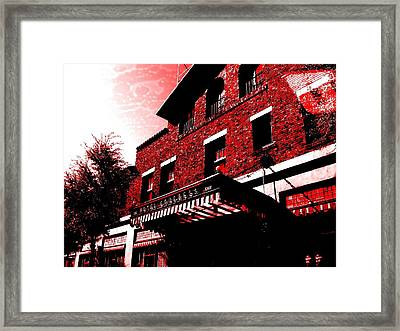 Hotel Congress Framed Print