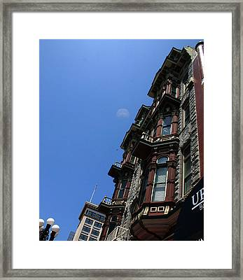 Hotel Downtown San Diego Framed Print by Brenda Myers