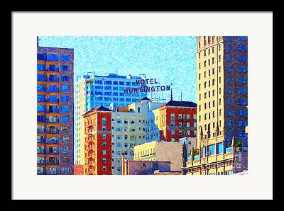 Huntington Hotel Framed Prints