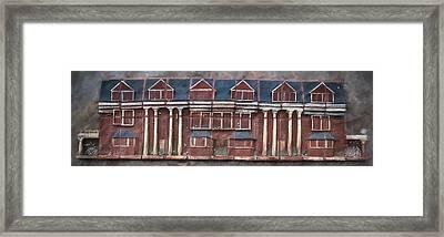 Hotel In Three Dimensions Framed Print