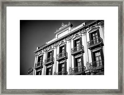 Hotel Internacional Cool Ramblas Framed Print by John Rizzuto