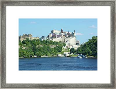 Framed Print featuring the photograph Hotel by Josef Pittner
