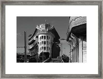 Hotel Le Belvedere Du Rayon Vert Framed Print by Frank Breslin