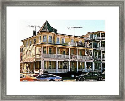 Hotel Polonaise Framed Print