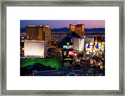 Hotel Room Heaven  Framed Print