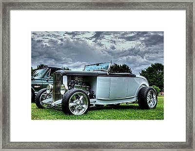 Hotrod Framed Print