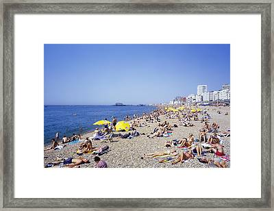 Hottest Day Framed Print by Carlos Dominguez