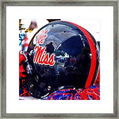 Hotty Toddy  Framed Print
