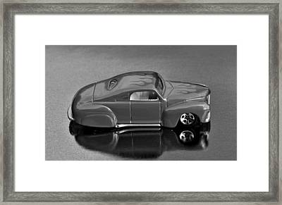 Hotwheels Tail Dragger   Framed Print by Bruce Roker