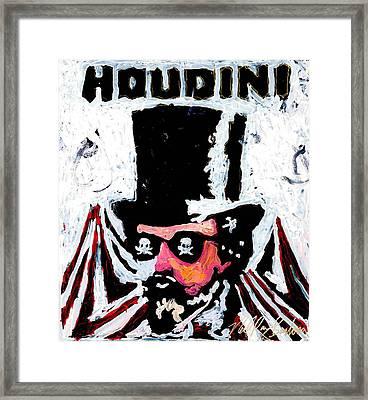 Houdini Framed Print