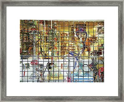 Houkas Framed Print
