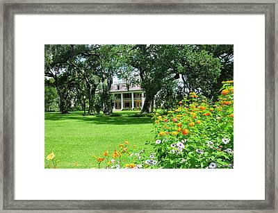 Houmas House Framed Print