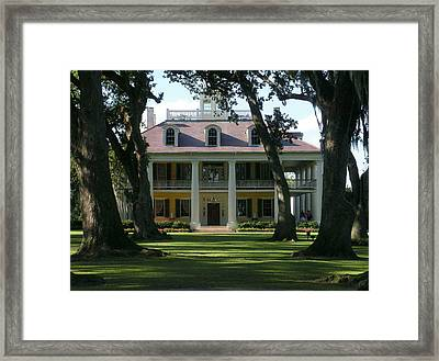 Houmas House Plantation Framed Print