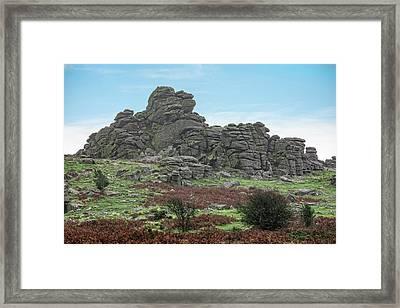 Hound Tor - Dartmoor Framed Print