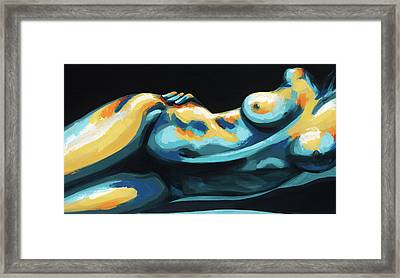 Hour Glass Framed Print