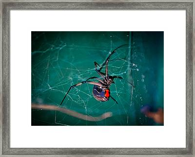 Hour Glass Of Death Framed Print by DigiArt Diaries by Vicky B Fuller