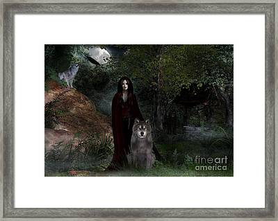Hour Of The Wolf Framed Print