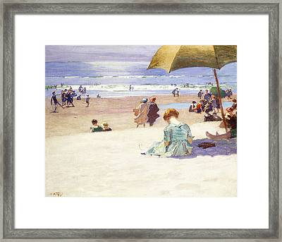 Hour Tide Framed Print by Edward Henry Potthast