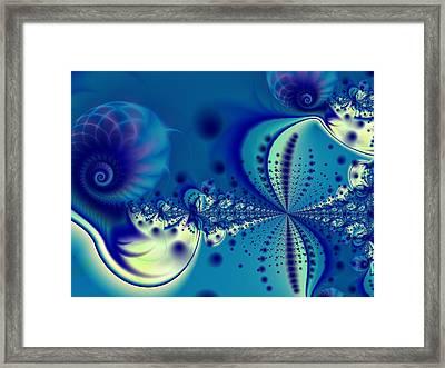 Hourglass Framed Print by Lauren Goia