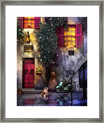 Hours Later Framed Print