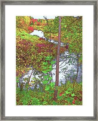 Housatonic River 2 - New England Framed Print by Steve Ohlsen