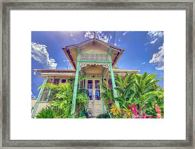 House # 90 Framed Print