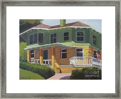 House At Knowlwood Framed Print