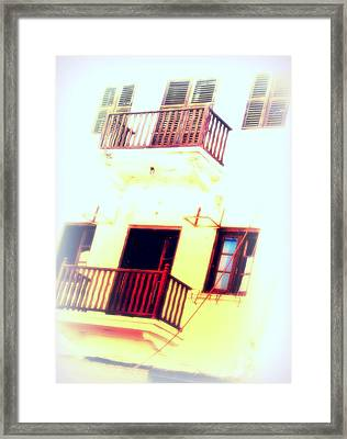 Our House In The Middle Of The Street   Framed Print